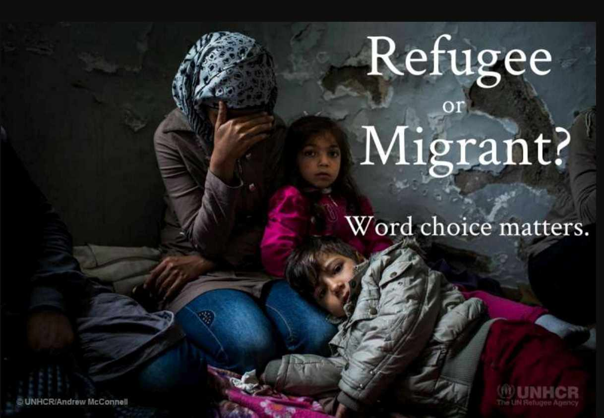 Refugee or migrant?