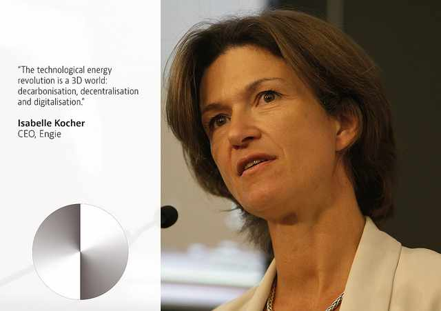 Isabelle Kocher at the OECD Forum