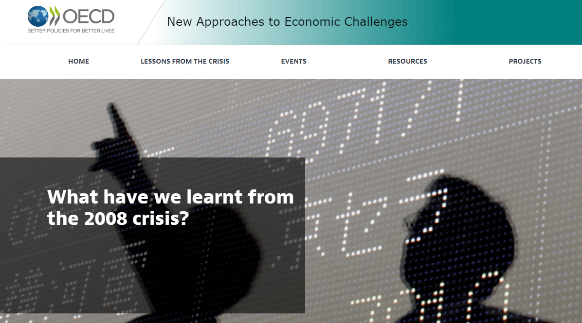 OECD New Approaches to Economic Challenges