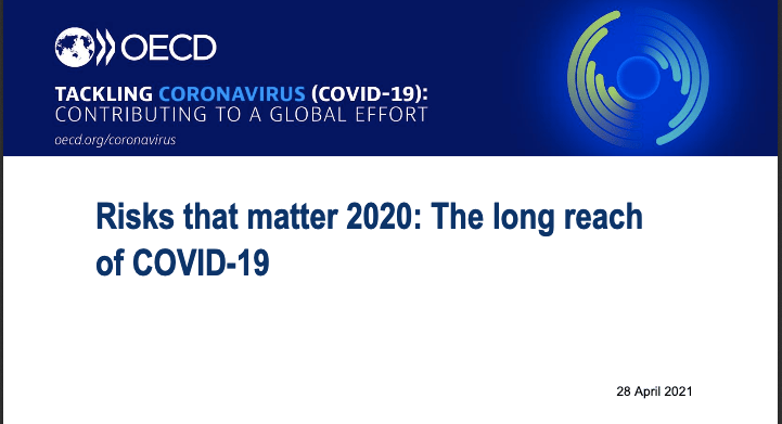 """Read the OECD's report """"Risks that matter 2020: The long reach of COVID-19"""" and find out more about the concerns weighing on people's minds across countries"""