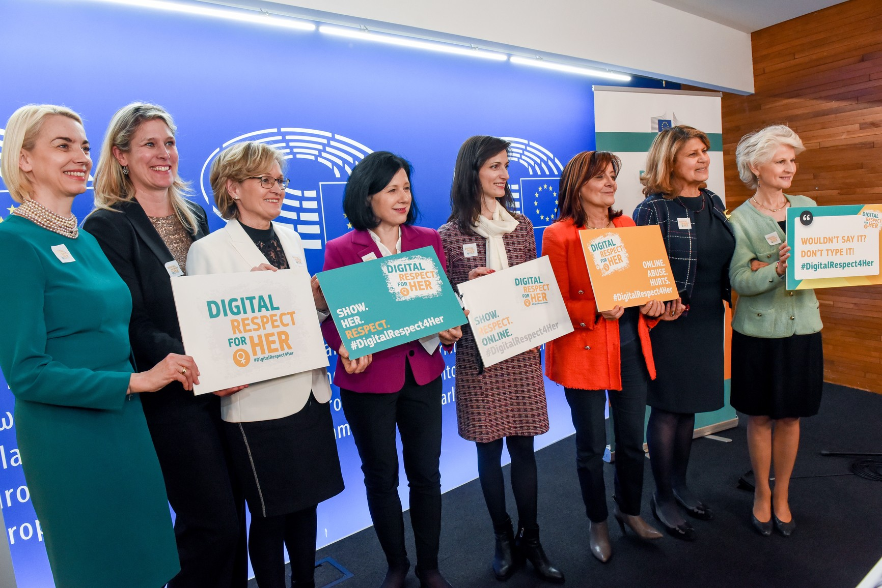 Launch of the #DigitalRespect4Her Campaign