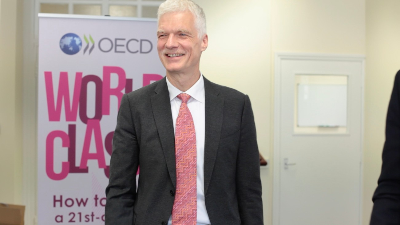 Andreas Schleicher, Director, OECD Education and Skills departmen; Special Advisor on Education Policy to the Secretary-General